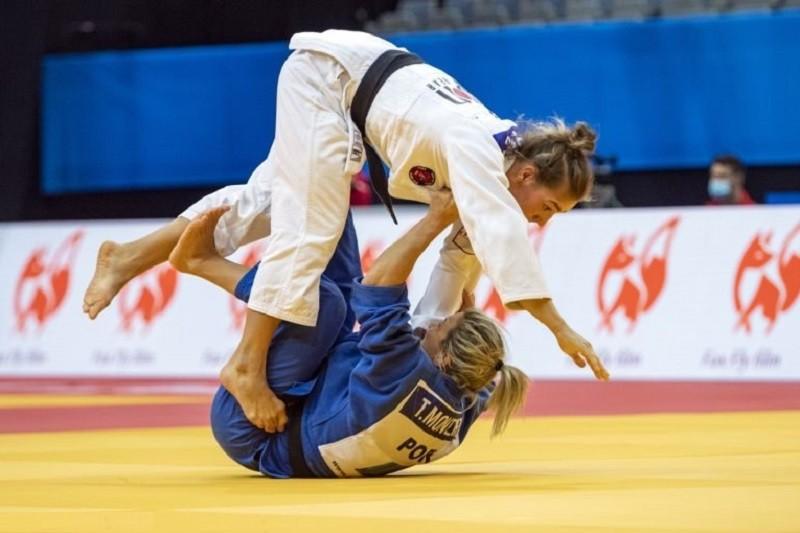 Judo/Europeus: Telma Monteiro vice-campeã de -57 kg