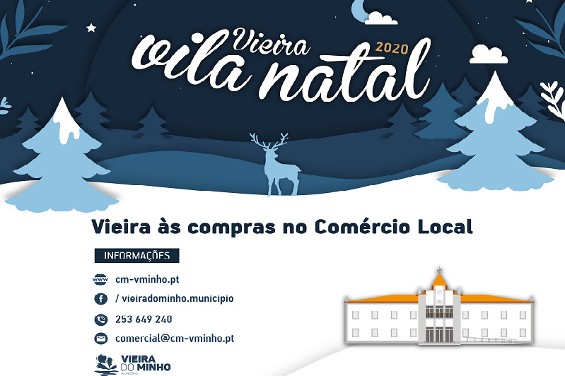 VIEIRA DO MINHO: Câmara lança campanha de marketing digital para ajudar comércio