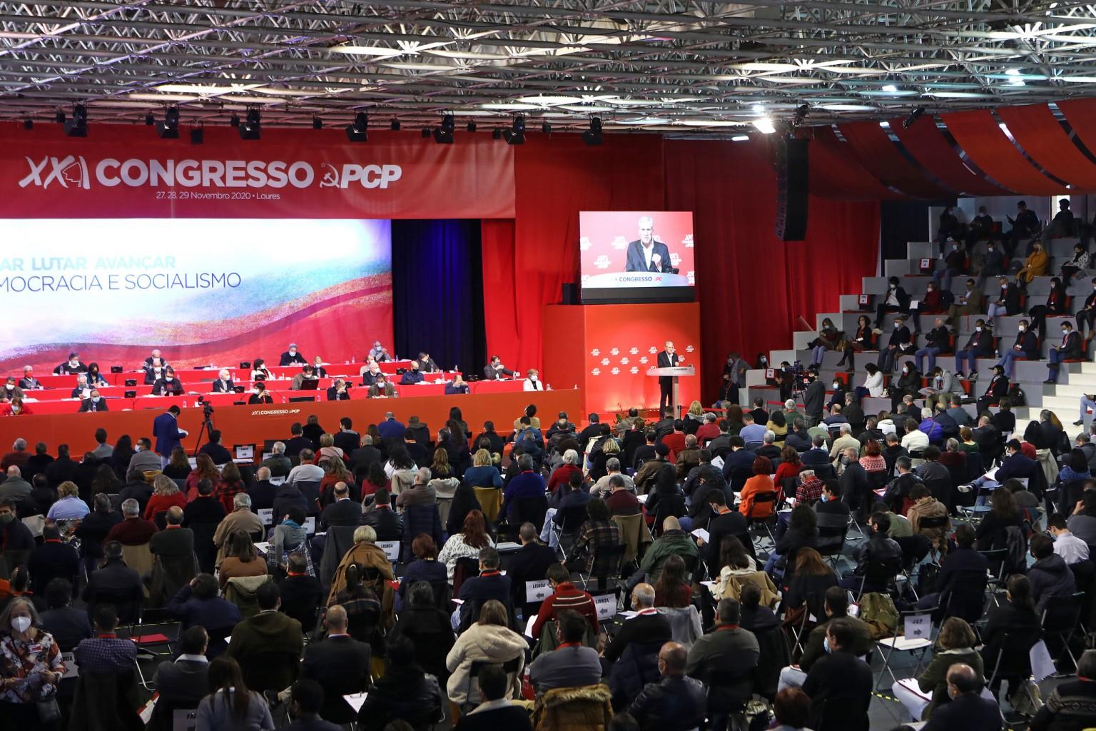 PCP/Congresso: Comunistas encerram hoje trabalhos em Loures