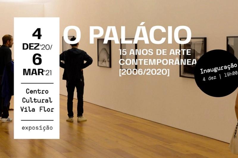 Exposição revisita 15 anos de arte no Palácio Vila Flor em Guimarães