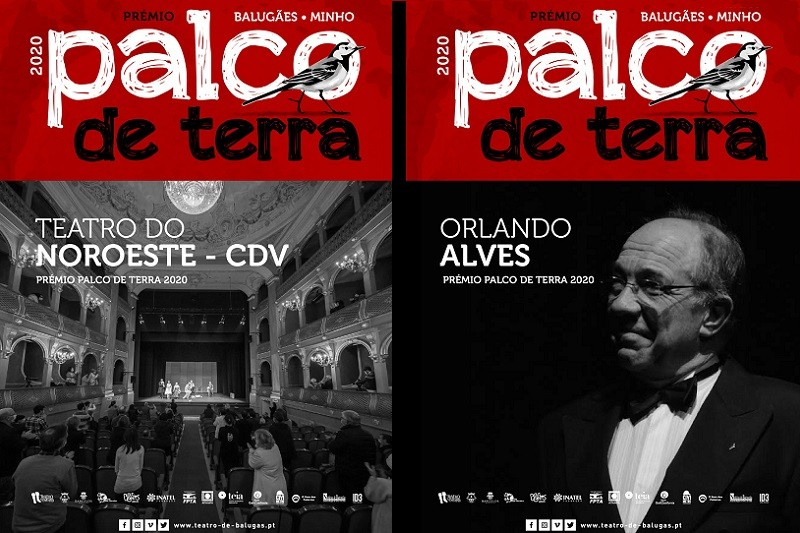 Prémio Palco de Terra para o Teatro do Noroeste-CDV eparaOrlando Alves