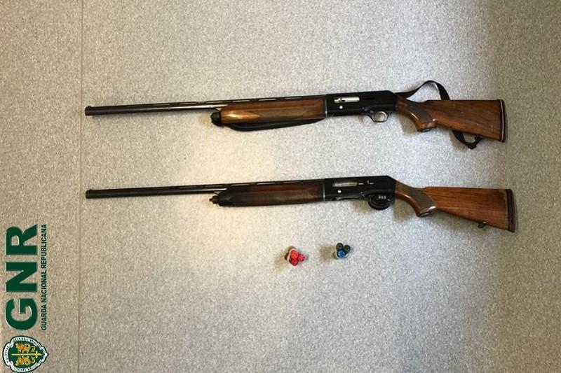 Póvoa de Lanhoso: Dois homens detidos por caça ilegal