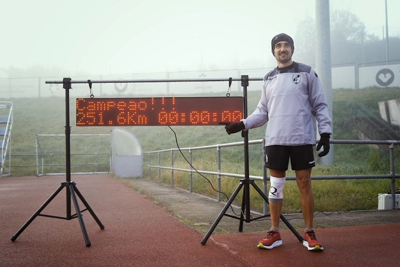 Vítor Rodrigues torna-se no português que mais correu em pista durante 24 horas