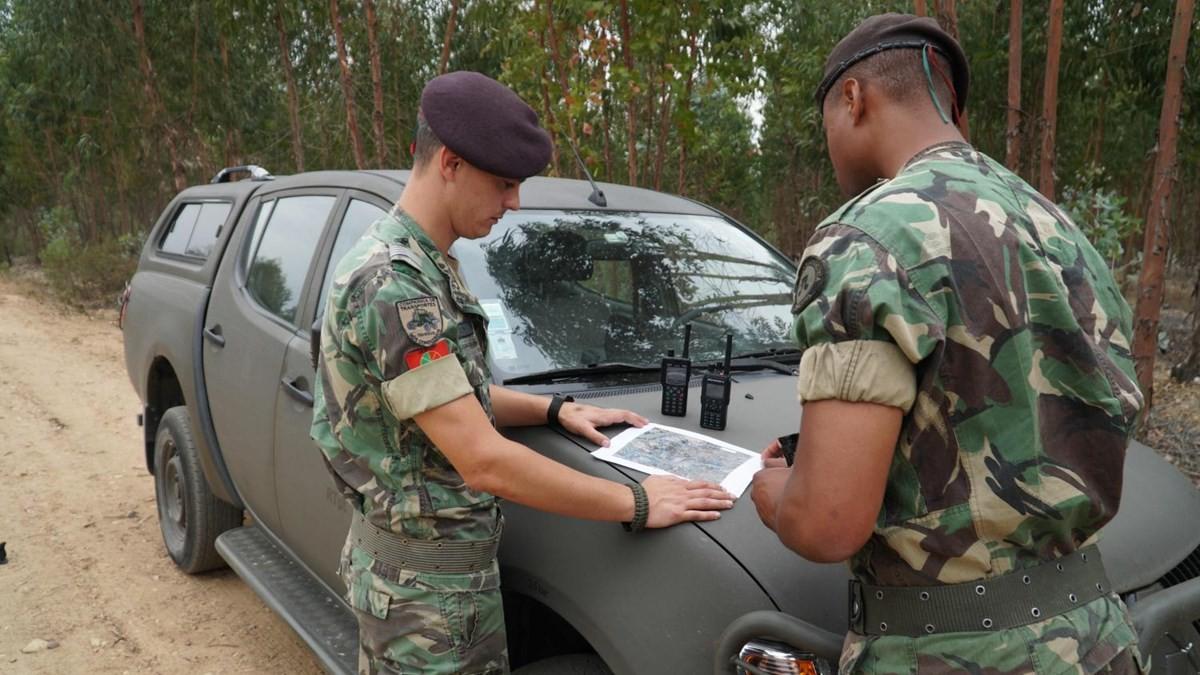 Incêndios: 78 militares reforçam ações de vigilância por tempo indeterminado