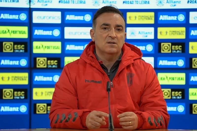Carlos Carvalhal disse que Braga 'respira saúde' e quer 'final four' da Taça da Liga