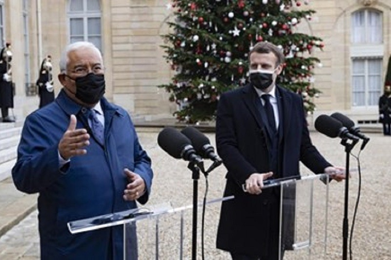 Presidente francês infetado pelo novo coronavirus