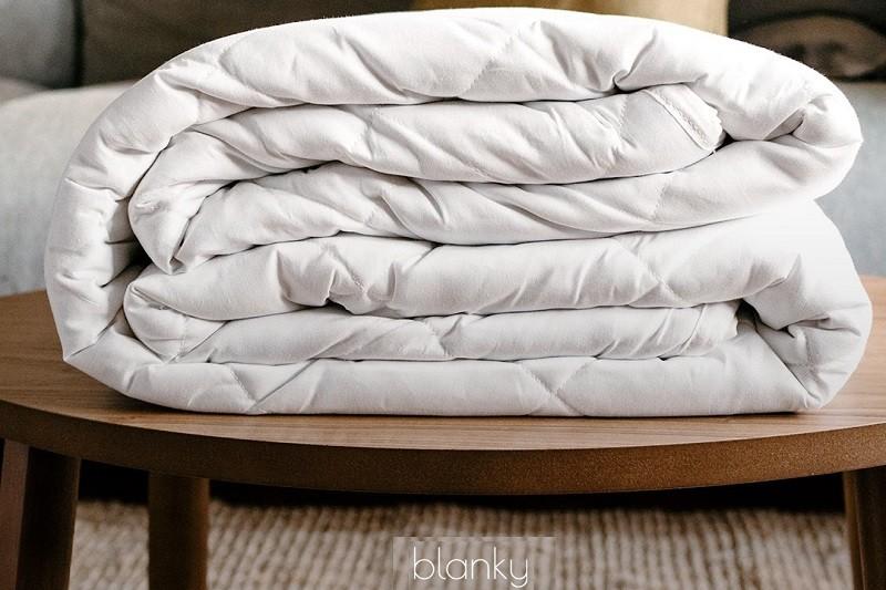 Empresa nacional produz cobertores pesados contra stress e dores musculares