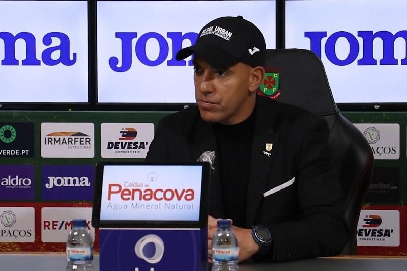 Pepa acredita num 'grande jogo' do Paços de Ferreira diante do Farense