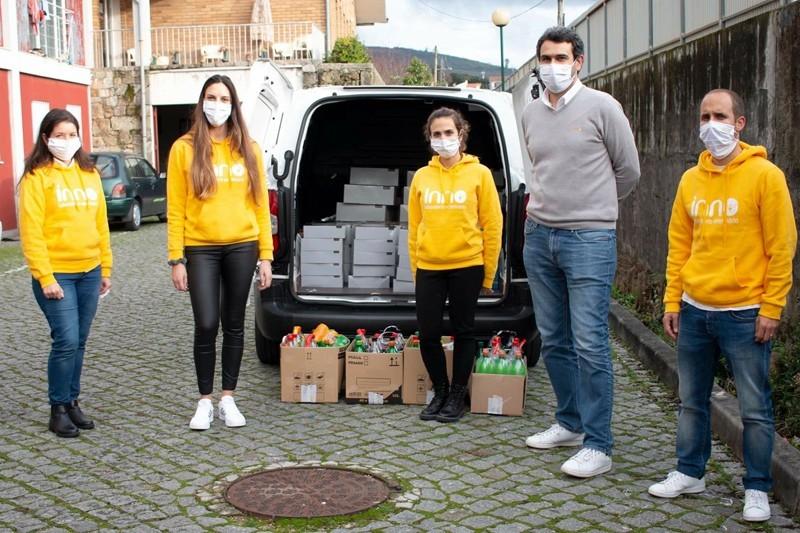 Donativos de empresas reforçaram refeições de Natal