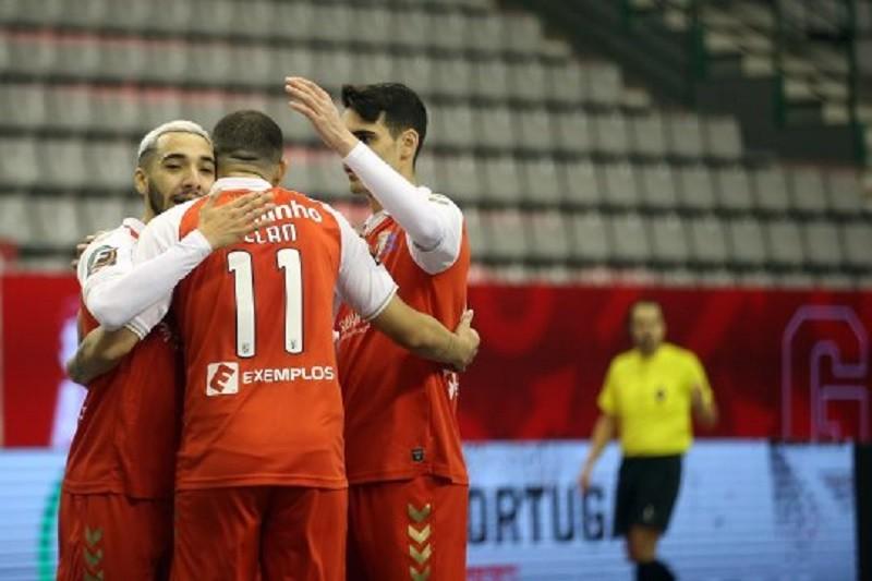 Braga bate Portimonense e vai discutir Taça de Portugal de futsal com Sporting