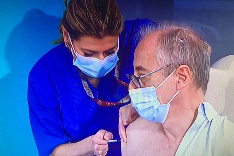 Enfermeira vimaranense fica na história da luta contra a Covid-19