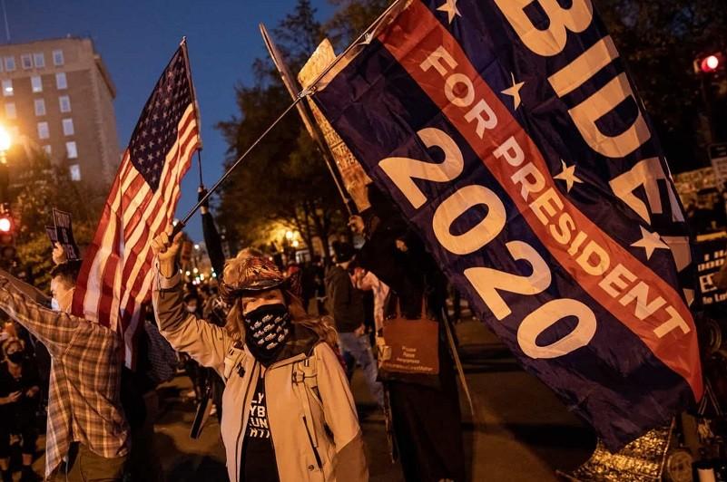 Sessão no Congresso suspensa por causa de manifestantes pró-Trump
