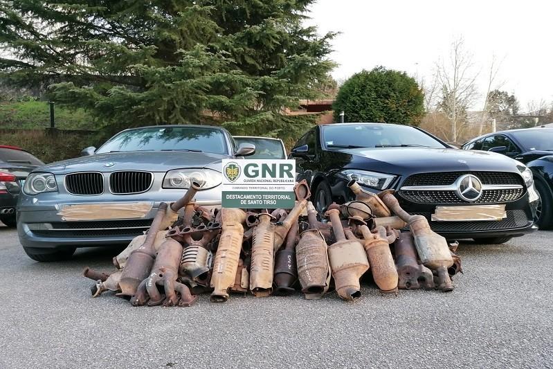 Detidos por furto e recetação de peças automóveis em Santo Tirso