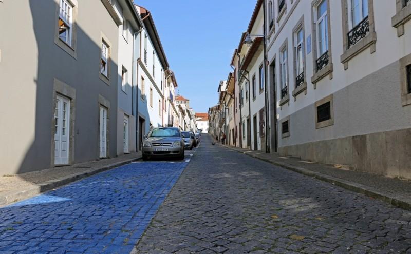 Estacionamento reordenado na Rua de São Geraldo