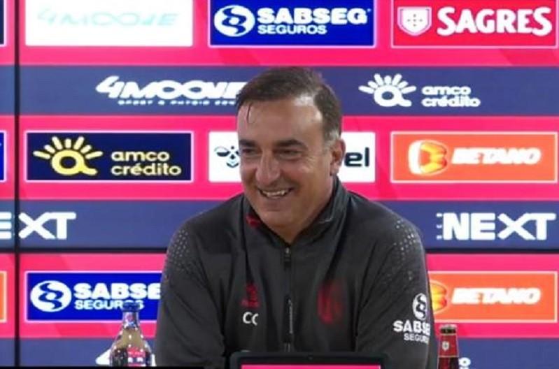 Carlos Carvalhal quer um Sporting de Braga 'guerreiro' em Paços de Ferreira