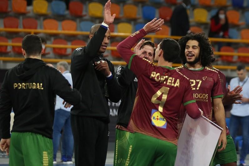 Portugal vence Marrocos e está na segunda fase do Mundial de andebol