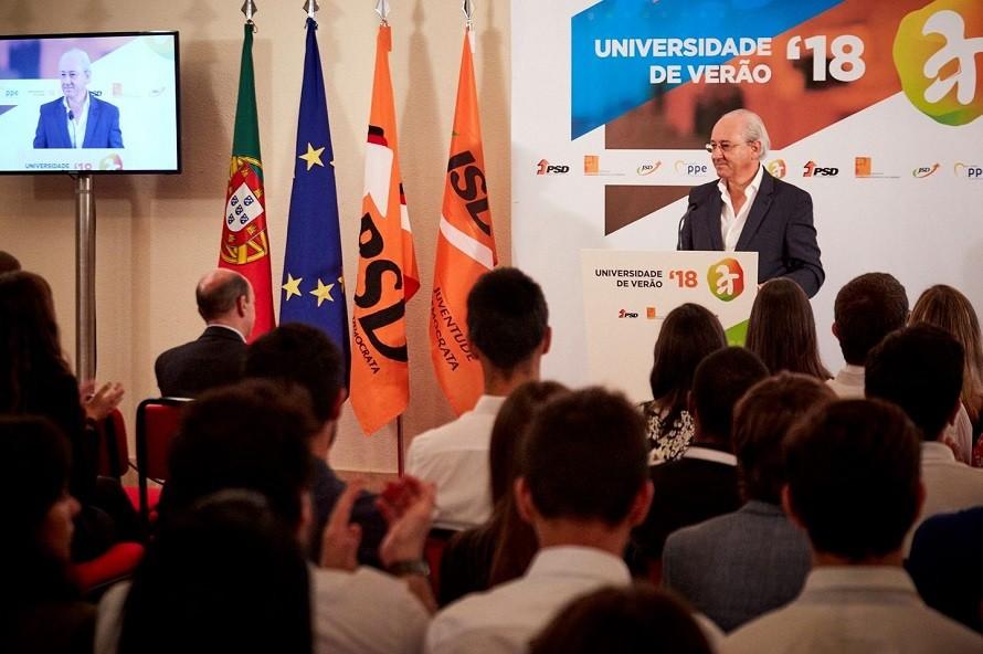 Universidade de Verão do PSD arranca hoje em Castelo de Vide