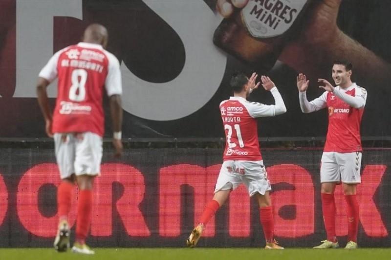 Sporting Clube de Braga vence Santa Clara e apura-se para as meias-finais da Taça