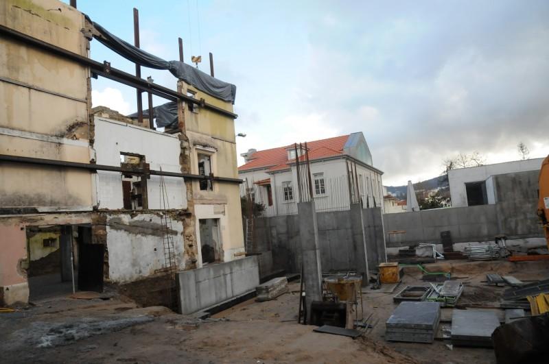Obras de requalificação do edifício-sede da Cruz Vermelha seguem 'a bom ritmo'