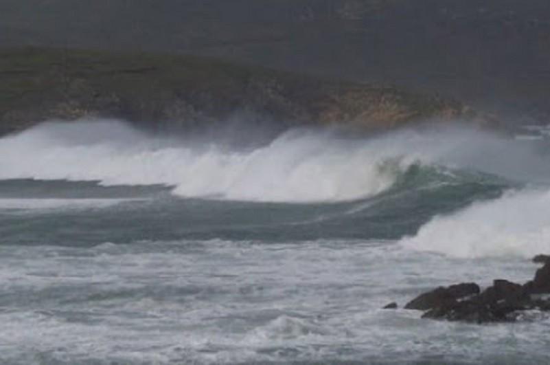 Sete distritos do continente e Açores sob aviso amarelo devido à agitação marítima