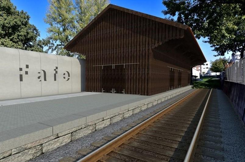 Fafe transforma antigo armazém da estação ferroviária em galeria de arte