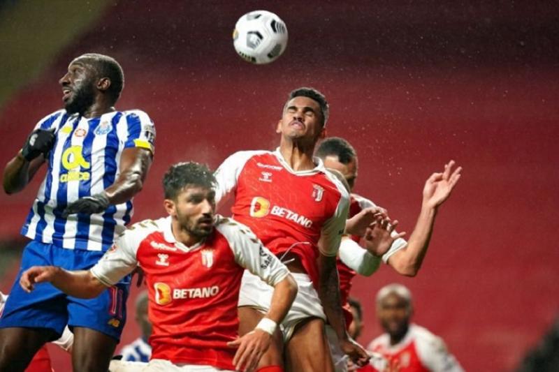 Sporting Clube de Braga e FC Porto empatam na primeira mão da Taça de Portugal