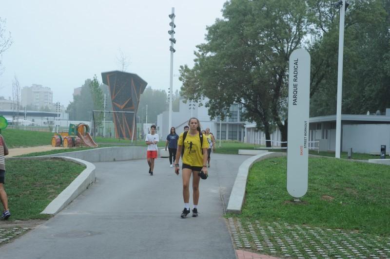 Um parque que conquistou a população de todas as idades e modalidades