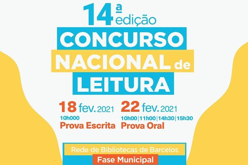 Município de Barcelos promove a 14.ª edição do Concurso Nacional de Leitura