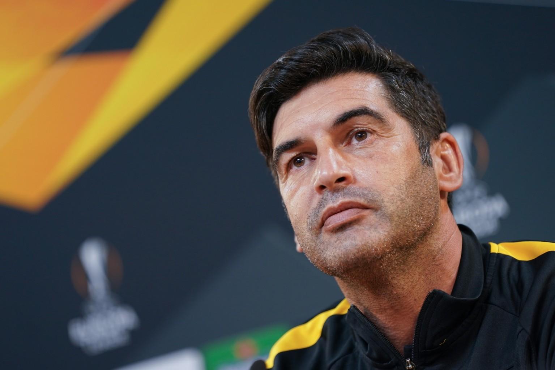 Paulo Fonseca espera jogo dificílimo para a Roma no seu regresso a Braga