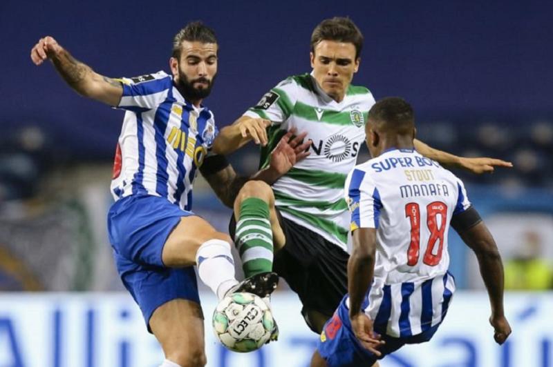 Sporting empata no Dragão e mantém os 10 pontos sobre o FC Porto