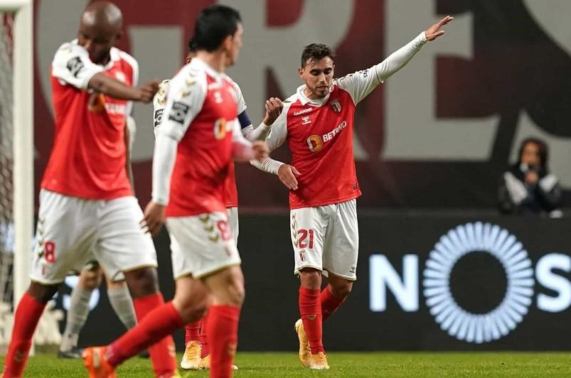 Sporting de Braga recebe Benfica em 21 de março para a 24.ª jornada da I Liga