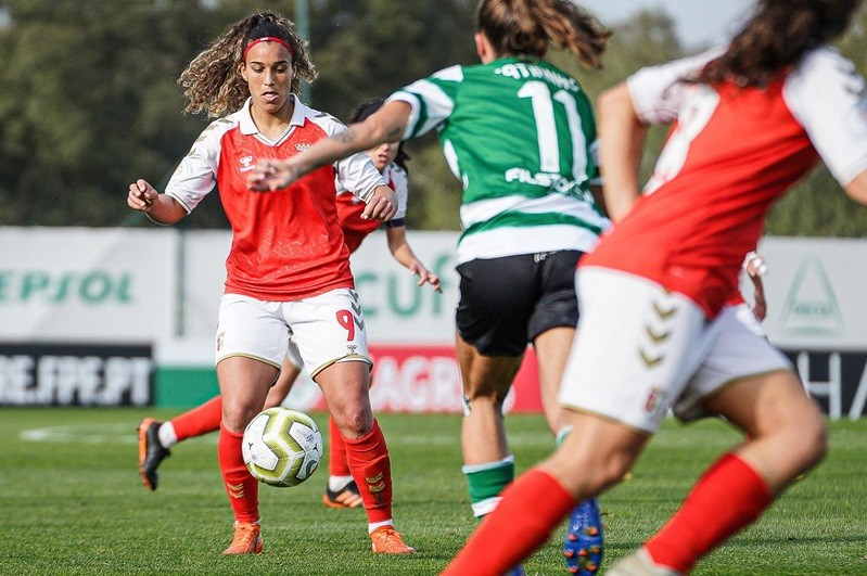Sporting vence Braga e apura-se para a final da Taça da Liga feminina