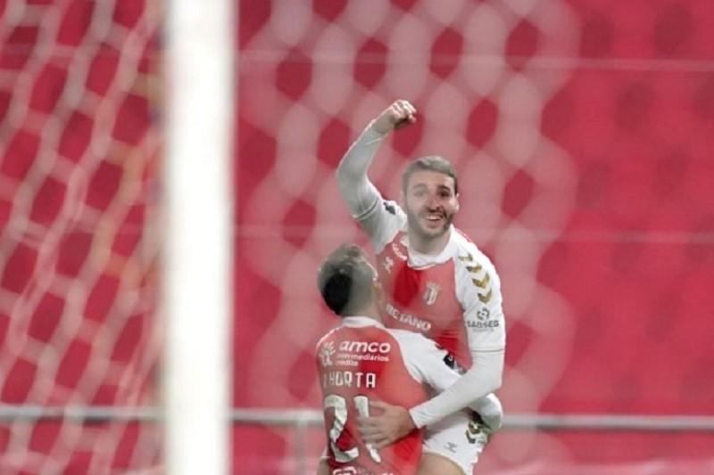 Sporting Clube de Braga vence Vitória de Guimarães e conserva segundo lugar