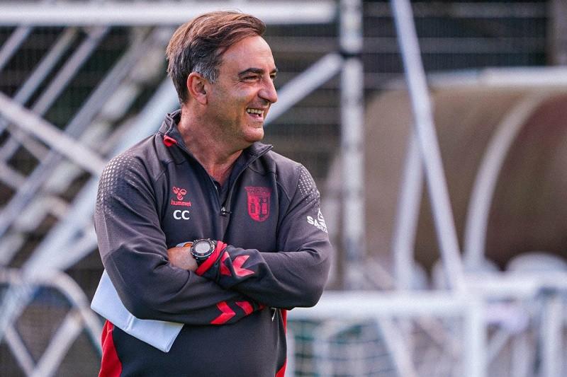 Carlos Carvalhal garante Sporting de Braga