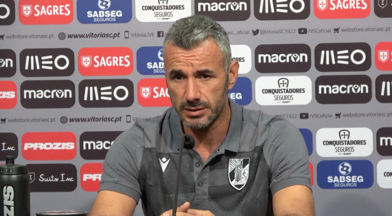 Ivo Vieira quer Vitória de Guimarães equilibrado, a tentar ganhar no Dragão