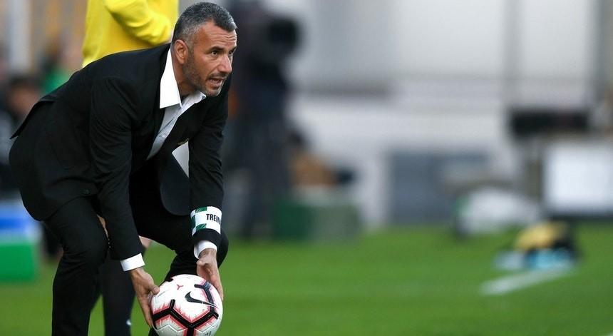 LE: Ivo Vieira promete trabalho árduo para o Vitória crescer nas provas europeias