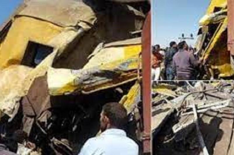 Pelo menos 32 mortos em colisão de comboios no sul do Egito
