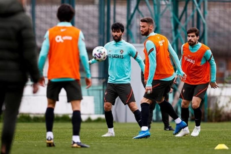 Portugal cumpre primeiro treino para o jogo com o Luxemburgo