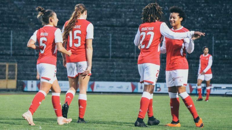 Braga defronta cipriotas, letãs e austríacas na Liga dos Campeões feminina