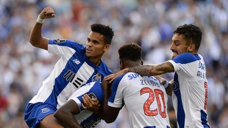 FC Porto vence na receção ao Vitória de Guimarães e sobe a segundo