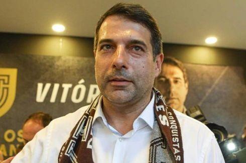 Presidente do Vitória de Guimarães desagradado com equipa de arbitragem