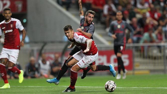 Benfica goleia em Braga e iguala FC Porto na segunda posição