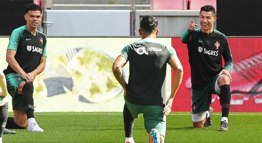 Euro2020: Seleção portuguesa concentra-se com Pepe em dúvida