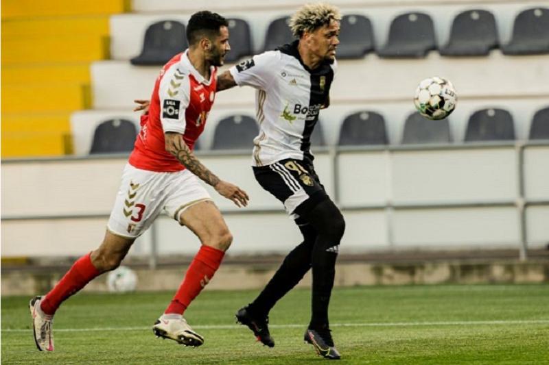 Sporting Clube de Braga vence Farense com golo nos descontos