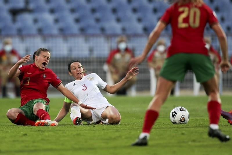 Portugal falha Europeu de futebol feminino ao empatar na Rússia