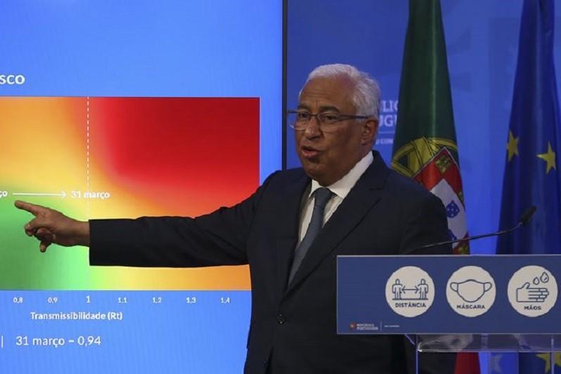 Generalidade do país avança para a próxima fase do desconfinamento - Costa
