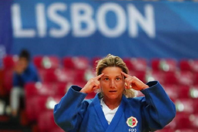 Telma Monteiro campeã europeia pela sexta vez