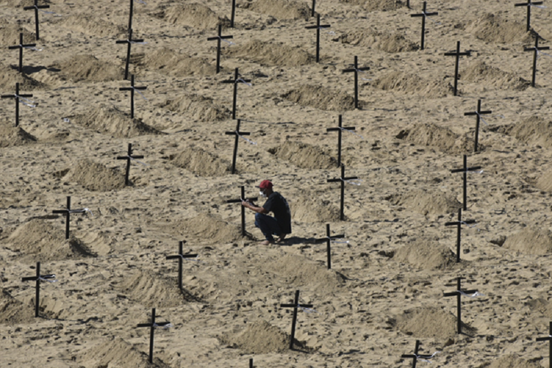 Mais de três milhões de mortos em todo o mundo causadas pela covid-19