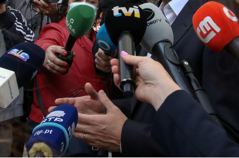 Trabalhadores da TVI, RTP, SIC e Lusa manifestam apoio