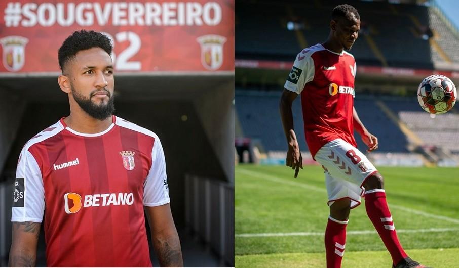LE: Reforços Wallace e Agbo na lista do Sporting de Braga